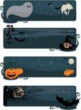 знамена halloween бесплатная иллюстрация