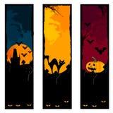 знамена halloween стоковая фотография rf