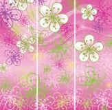 3 знамени весны. Предпосылка цветков абстрактная бесплатная иллюстрация