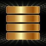 4 знамени Стоковые Фотографии RF