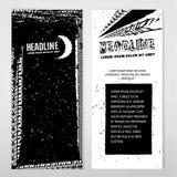 Знамя автошины Grunge Стоковые Изображения RF