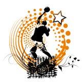 Знамя баскетбола Стоковые Фотографии RF