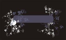 знамя богато украшенный Стоковое фото RF