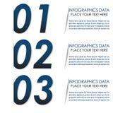 Знамя варианта Infographic Стоковые Фотографии RF