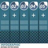Знамя варианта Infographic Стоковая Фотография RF