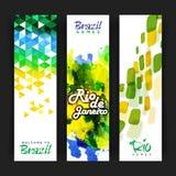 Знамя вебсайта установленное для концепции спорт Стоковые Изображения