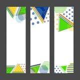 Знамя вебсайта установленное для концепции спорт Стоковые Изображения RF