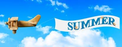 Знамя весны Стоковая Фотография RF