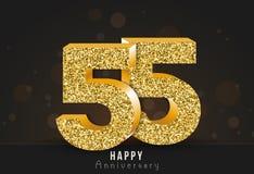 20 - знамя годовщины года счастливое двадцатый логотип золота годовщины на темной предпосылке стоковые фото