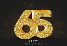 20 - знамя годовщины года счастливое двадцатый логотип золота годовщины на темной предпосылке стоковое фото rf