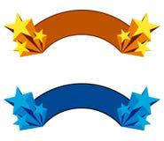 Знамя звезды Стоковое Изображение RF