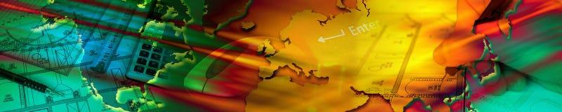 знамя зодчества Стоковые Фотографии RF