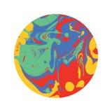 знамя круглое Стоковое Изображение