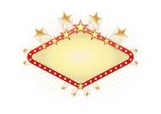 Знамя Лас-Вегас Стоковые Изображения RF