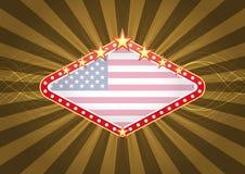 Знамя Лас-Вегас Стоковые Фотографии RF
