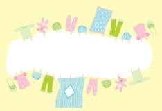 знамя младенца иллюстрация вектора