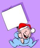 знамя младенца Стоковые Фотографии RF