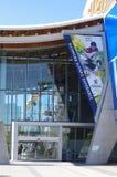 Знамя на овале Ричмонда олимпийском Стоковое фото RF