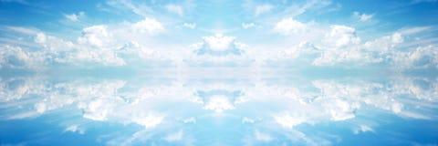 знамя небесное Стоковые Фотографии RF