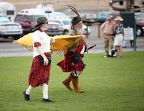 Знамя нося кельтских пар Стоковое фото RF