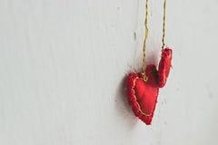 Знамя дня валентинки Стоковая Фотография