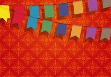 знамя праздничное Стоковое Изображение