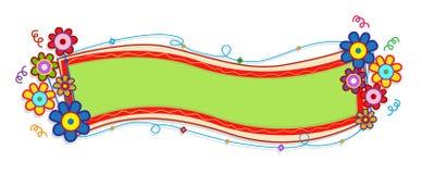 знамя праздничное Стоковое Фото