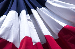 знамя предпосылки патриотическое стоковое фото