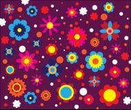 знамя предпосылки цветет формы меньшяя розовая спираль иллюстрация штока