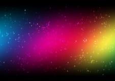 Знамя радуги Стоковое Фото