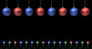 Знамя рождества иллюстрация вектора