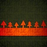 Знамя рождества Стоковые Изображения RF
