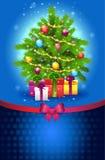 Знамя рождественской елки Стоковые Фото