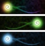 Знамя сети конспекта Blury Стоковые Изображения