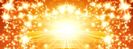 Знамя Солнця Стоковое Изображение RF