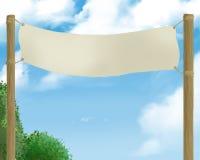 знамя старое Стоковое Фото