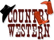Знамя страны западное Стоковая Фотография RF