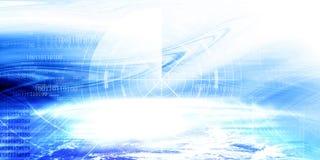 Знамя технологии Стоковые Фотографии RF