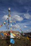 Знамя Тибета Стоковое Изображение RF