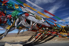 Знамя Тибета Стоковое фото RF