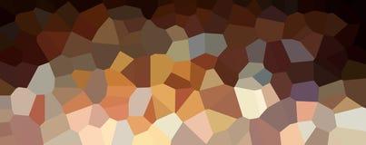 Знамя треугольников внутри широкое Яркие абстрактные обои иллюстрация штока