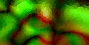 Знамя треугольников внутри широкое Яркие абстрактные обои иллюстрация вектора