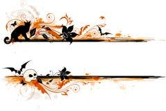 Знамя хеллоуина Стоковое Изображение