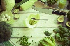 Знамя цитаты свежих овощей и плодоовощей Стоковое Изображение RF