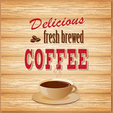 Знамя для кофе Стоковые Фото