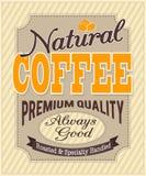 Знамя для кофе Стоковое Изображение