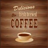 Знамя для кофе Стоковые Фотографии RF