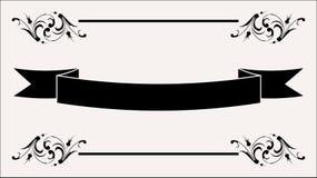 знамя Стоковое Изображение