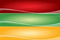 знамя иллюстрация штока
