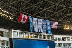 Знамя Blue Jays Стоковое фото RF